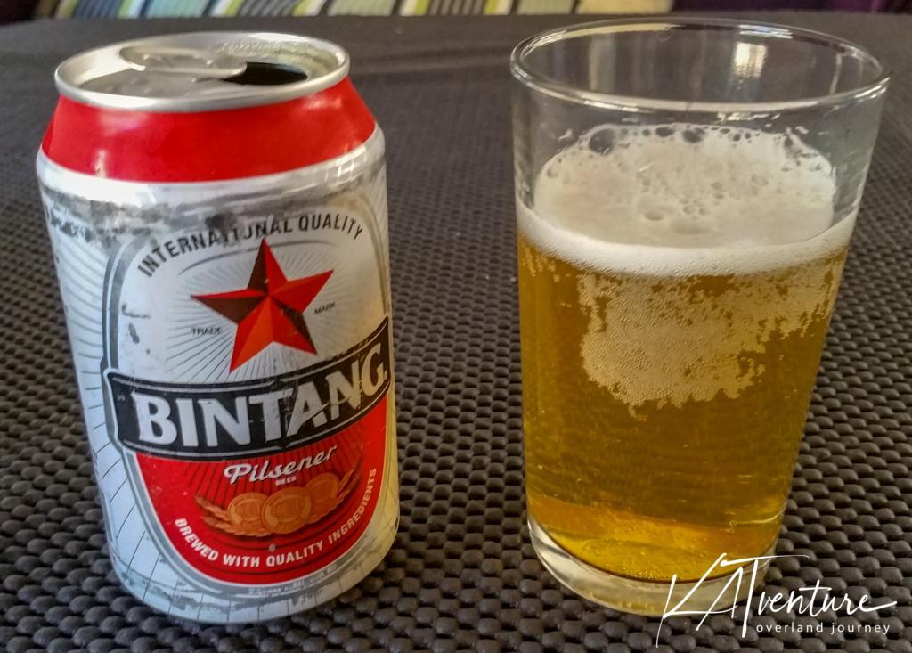 Bintang Bier, importiert aus Bali